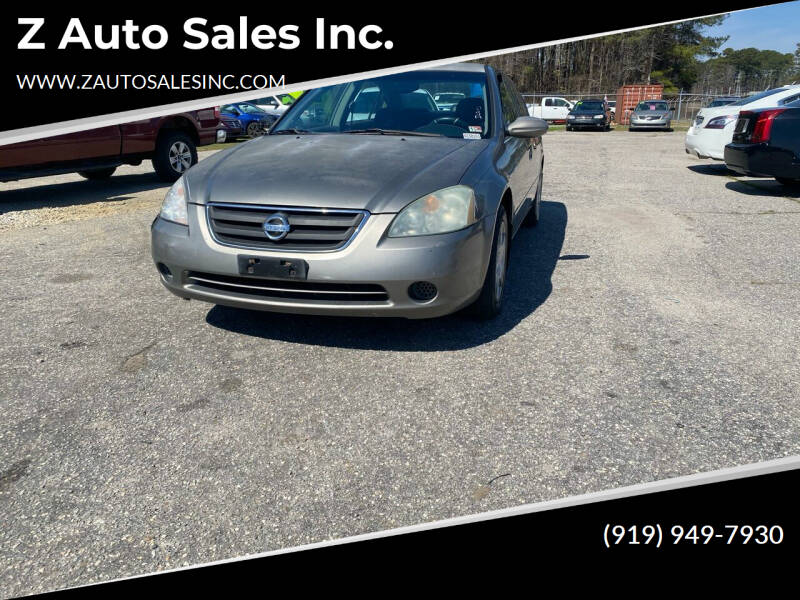 2003 Nissan Altima for sale at Z Auto Sales Inc. in Rocky Mount NC
