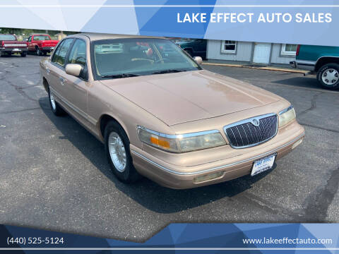 1996 Mercury Grand Marquis for sale at Lake Effect Auto Sales in Chardon OH
