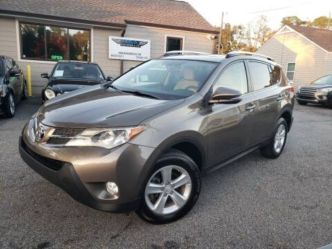 2014 Toyota RAV4 for sale at M & A Motors LLC in Marietta GA