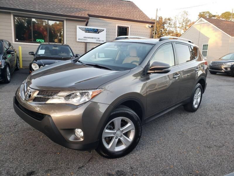 2014 Toyota RAV4 for sale at M & A Motors LLC in Marietta GA