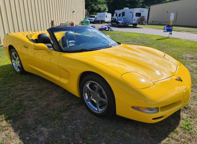 2002 Chevrolet Corvette 2dr Convertible - Hopedale MA