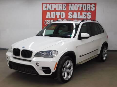 2012 BMW X5 for sale at EMPIRE MOTORS AUTO SALES in Philadelphia PA