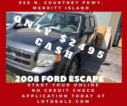 2008 Ford Escape for sale at ROCKLEDGE in Rockledge FL