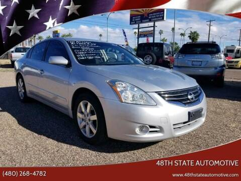 2010 Nissan Altima for sale at 48TH STATE AUTOMOTIVE in Mesa AZ