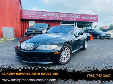 2000 BMW Z3 for sale at LUXURY IMPORTS AUTO SALES INC in North Branch MN