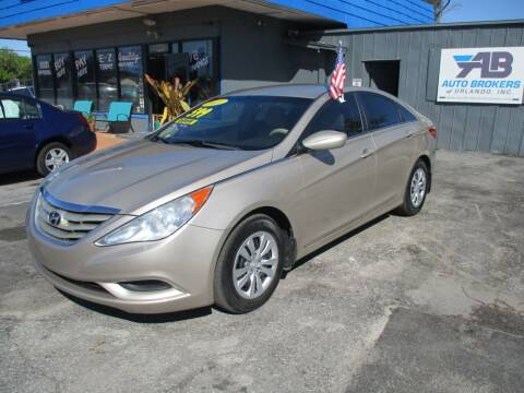 2011 Hyundai Sonata for sale at AUTO BROKERS OF ORLANDO in Orlando FL