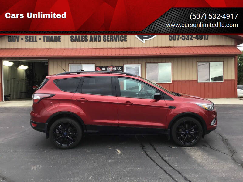 2017 Ford Escape for sale at Cars Unlimited in Marshall MN