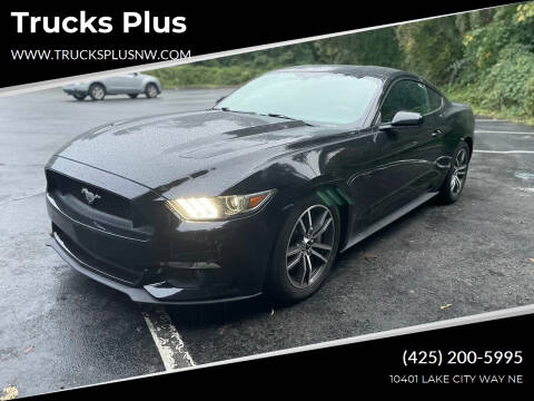 2015 Ford Mustang for sale at Trucks Plus in Seattle WA