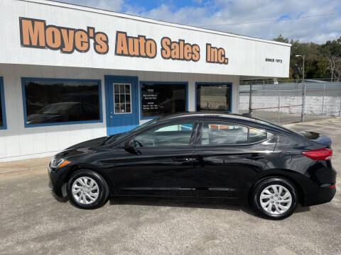 2017 Hyundai Elantra for sale at Moye's Auto Sales Inc. in Leesburg FL