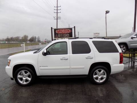 2007 Chevrolet Tahoe for sale at MYLENBUSCH AUTO SOURCE in O` Fallon MO