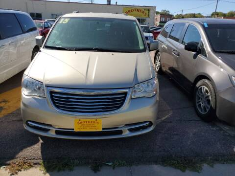 2015 Chrysler Town and Country for sale at Brothers Used Cars Inc in Sioux City IA