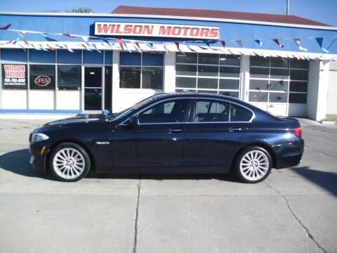 2013 BMW 5 Series for sale at Wilson Motors in Junction City KS