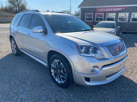 2011 GMC Acadia for sale at Y City Auto Group in Zanesville OH