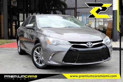 2017 Toyota Camry for sale at Premium Cars of Miami in Miami FL