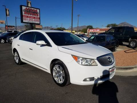 2013 Buick LaCrosse for sale at ATLAS MOTORS INC in Salt Lake City UT