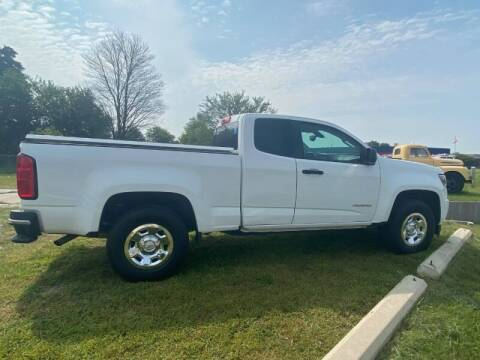 2018 Chevrolet Colorado for sale at Groesbeck TRUCK SALES LLC in Mount Clemens MI