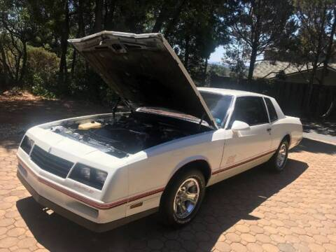 1987 Chevrolet Monte Carlo for sale at Classic Car Deals in Cadillac MI