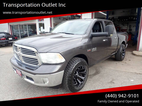 2015 RAM Ram Pickup 1500 for sale at Transportation Outlet Inc in Eastlake OH