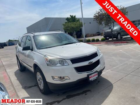 2012 Chevrolet Traverse for sale at Meador Dodge Chrysler Jeep RAM in Fort Worth TX