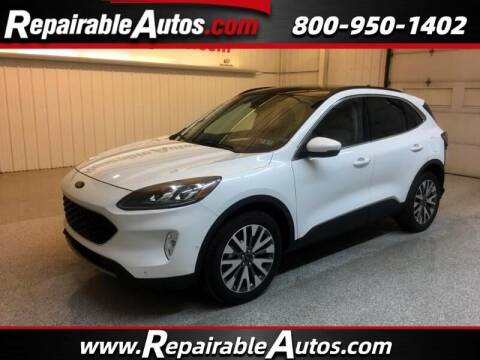 2020 Ford Escape for sale at Ken's Auto in Strasburg ND