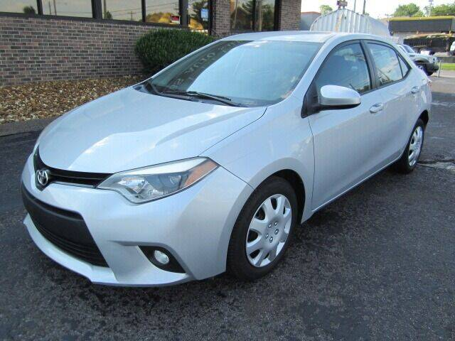 2014 Toyota Corolla for sale at Jacobs Auto Sales in Nashville TN