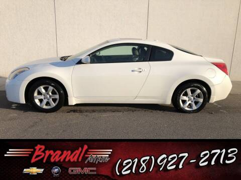 2008 Nissan Altima for sale at Brandl GM in Aitkin MN