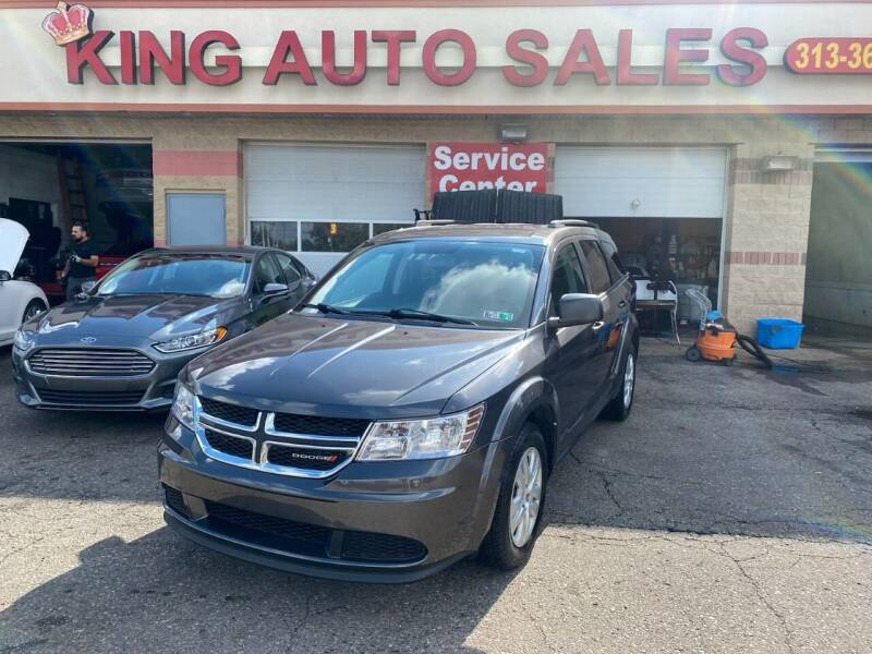 2014 Dodge Journey for sale at KING AUTO SALES  II in Detroit MI