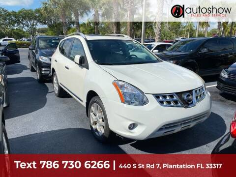 2013 Nissan Rogue for sale at AUTOSHOW SALES & SERVICE in Plantation FL
