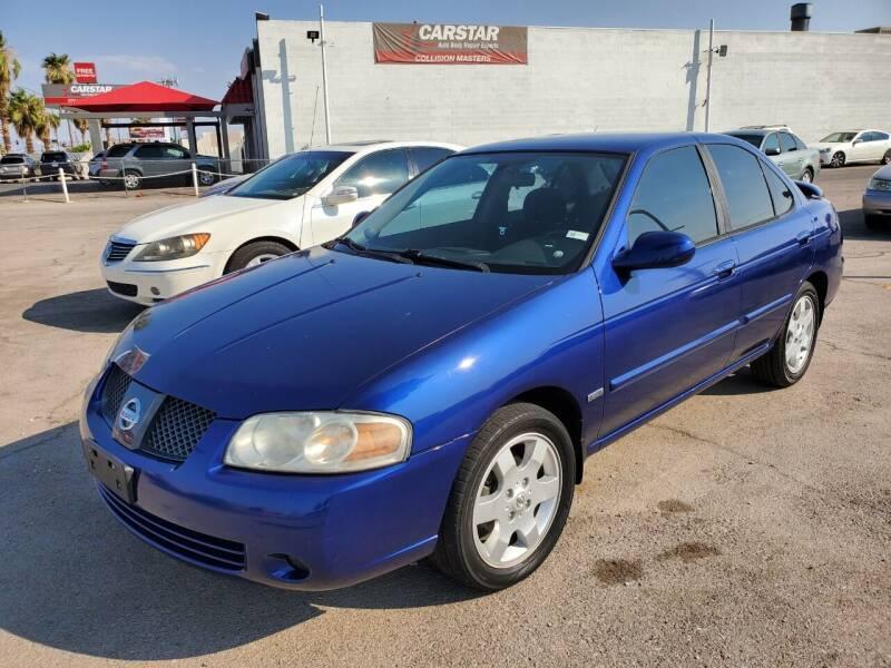 2006 Nissan Sentra for sale at TJ Motors in Las Vegas NV
