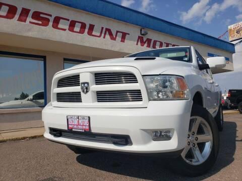 2011 RAM Ram Pickup 1500 for sale at Discount Motors in Pueblo CO