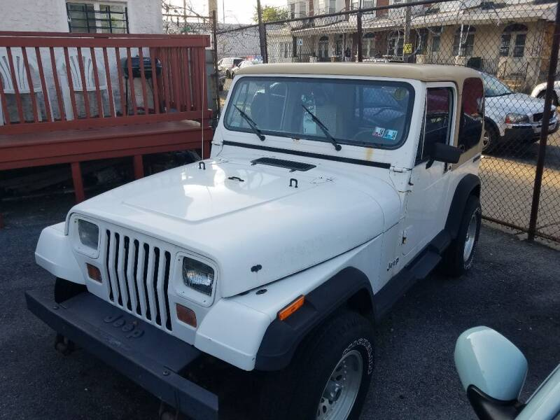1988 Jeep Wrangler for sale at Rockland Auto Sales in Philadelphia PA
