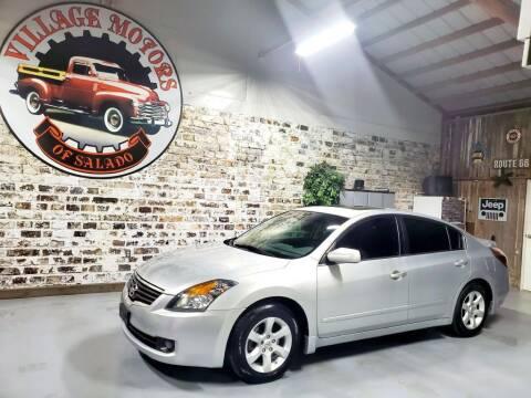 2009 Nissan Altima for sale at Village Motors Of Salado in Salado TX