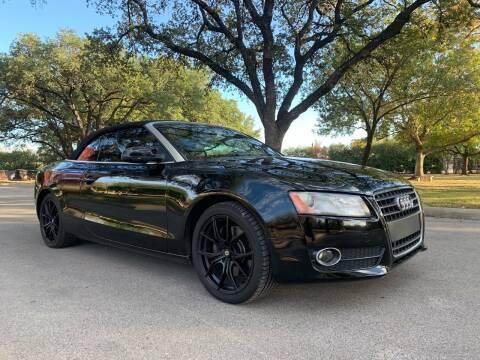 2012 Audi A5 for sale at 210 Auto Center in San Antonio TX