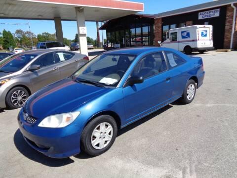 2004 Honda Civic for sale at KARS R US of Spartanburg LLC in Spartanburg SC