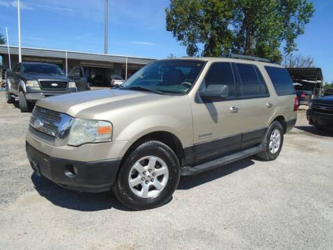 2007 Ford Expedition for sale at J & F AUTO SALES in Houston TX