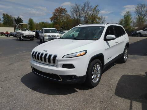 2014 Jeep Cherokee for sale at Cruisin' Auto Sales in Madison IN