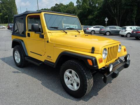 2006 Jeep Wrangler for sale at Mathews Used Cars, Inc. in Crawford GA