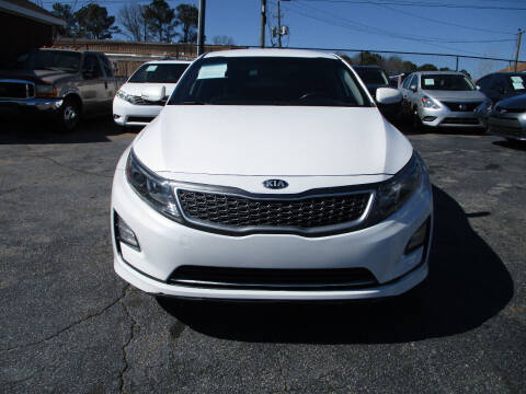 2014 Kia Optima Hybrid for sale at LOS PAISANOS AUTO & TRUCK SALES LLC in Peachtree Corners GA