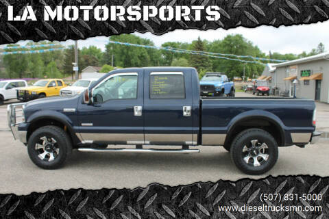 2006 Ford F-250 Super Duty for sale at LA MOTORSPORTS in Windom MN