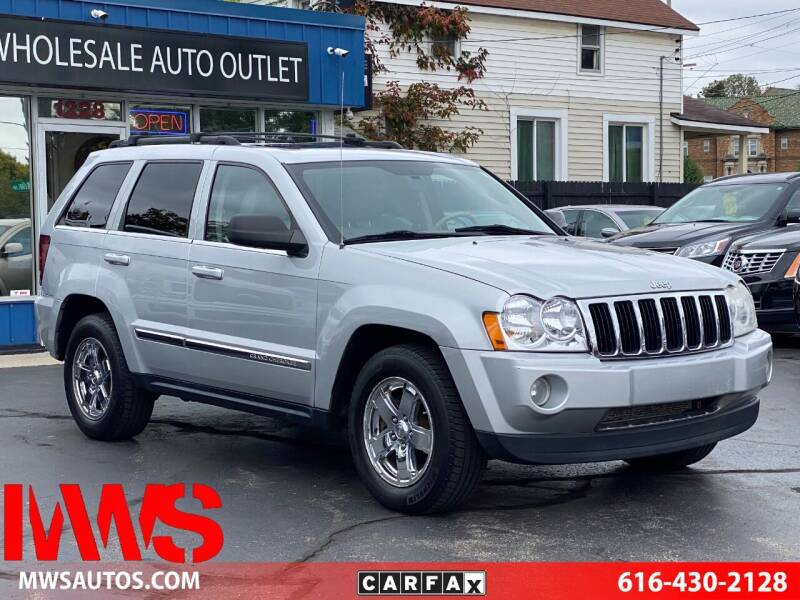 2006 Jeep Grand Cherokee for sale at MWS Wholesale  Auto Outlet in Grand Rapids MI