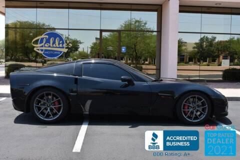 2011 Chevrolet Corvette for sale at GOLDIES MOTORS in Phoenix AZ