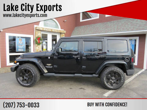 2015 Jeep Wrangler Unlimited for sale at Lake City Exports - Lewiston in Lewiston ME