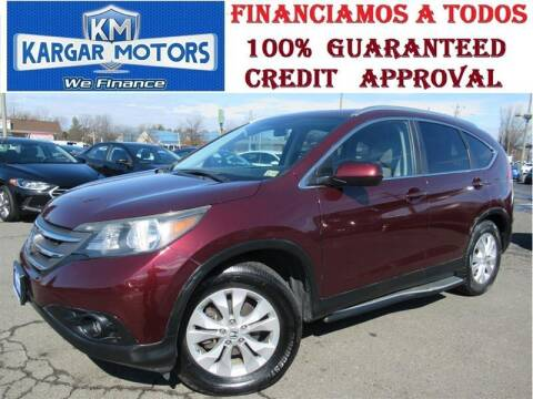 2013 Honda CR-V for sale at Kargar Motors of Manassas in Manassas VA