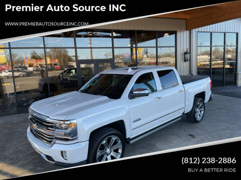 2018 Chevrolet Silverado 1500 for sale at Premier Auto Source INC in Terre Haute IN