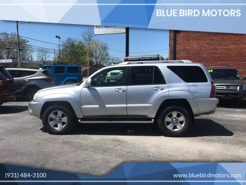 2003 Toyota 4Runner for sale at Blue Bird Motors in Crossville TN