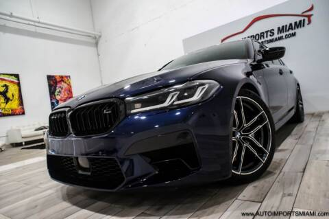 2021 BMW M5 for sale at AUTO IMPORTS MIAMI in Fort Lauderdale FL