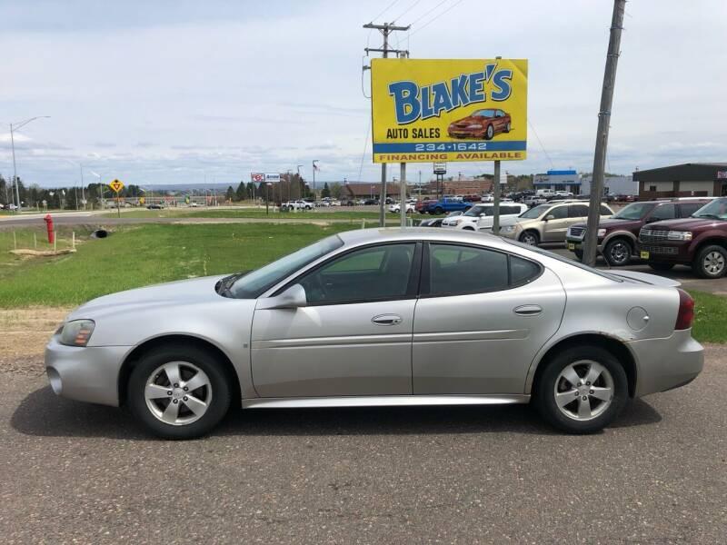 2007 Pontiac Grand Prix for sale at Blake's Auto Sales in Rice Lake WI