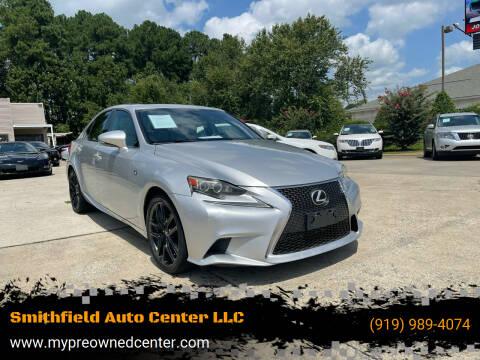 2014 Lexus IS 250 for sale at Smithfield Auto Center LLC in Smithfield NC