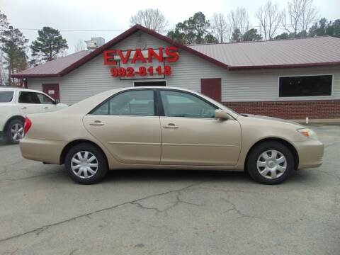2004 Toyota Camry for sale at Evans Motors Inc in Little Rock AR