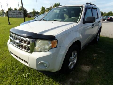 2012 Ford Escape for sale at Creech Auto Sales in Garner NC